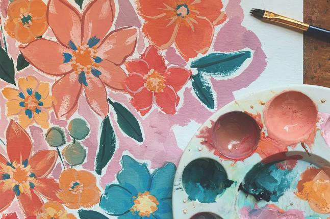 Meet Australian artist and textile designer Anna Walsh