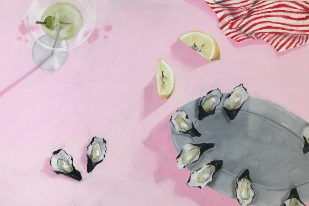 Empty pools, lazy days and oysters with Annalisa Ferraris