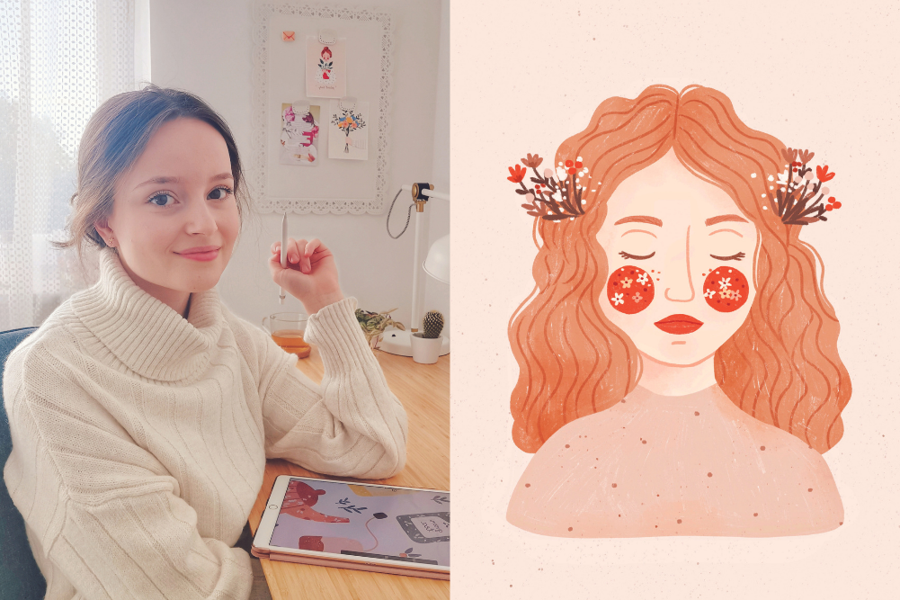 Blooming marvellous: Get to know artist Monika Szczerbinska