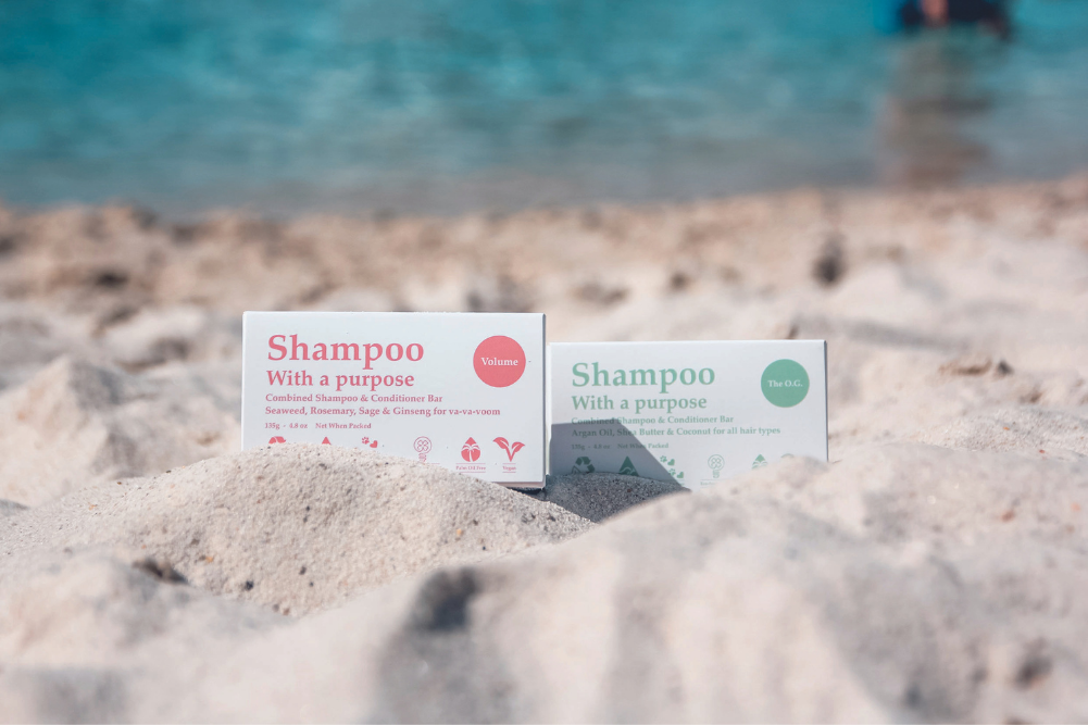 How Shampoo With A Purpose is raising the bar for zero-waste beauty