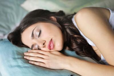sleeping woman benefits of sleep