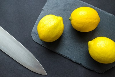 healthy with lemons