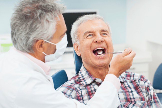 Dentist man