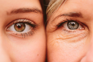 Ageing mother daughter