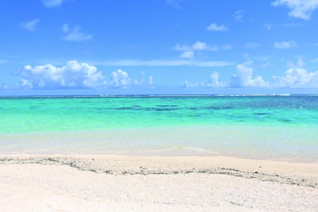 Cook Island beach