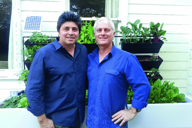 Geoff Jansz and Terry Robson
