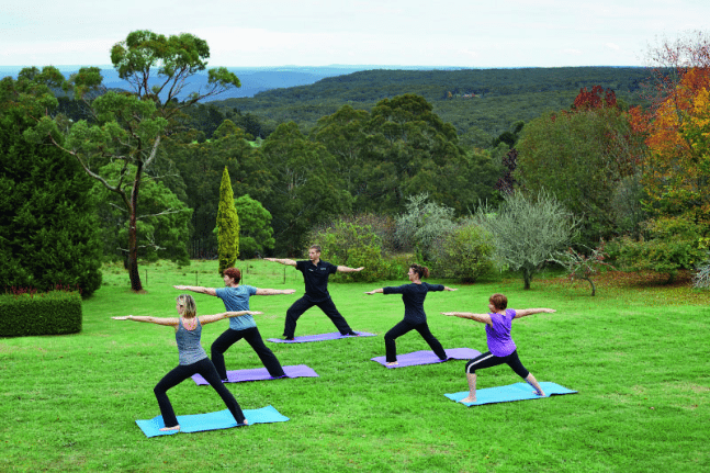 Solar Springs Outdoor Yoga