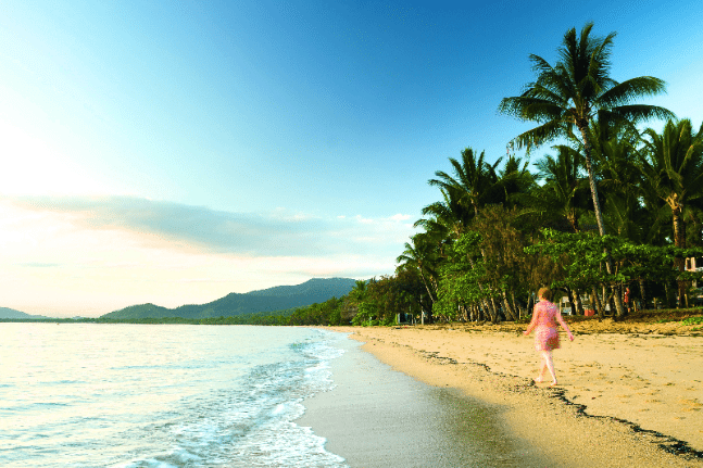Beautiful beaches Cairns to Cape Tribulation