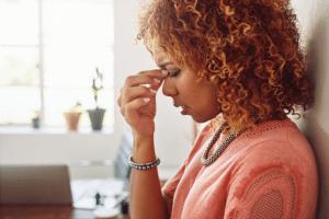 Sickness, fear and negativity