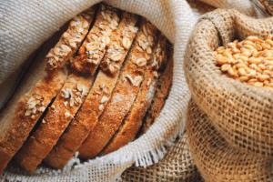 Bread flour grains wheat