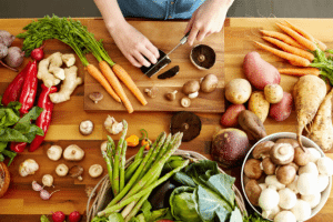 Healthy food for recovery from strokes