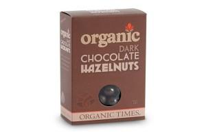 Organic Times Dark Chocolate Hazelnuts