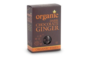 Organic Times Dark Chocolate Ginger