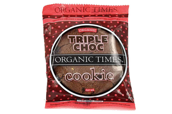 Organic Times Triple Chocolate Cookie