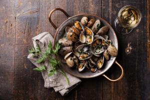 Overfishing seafood