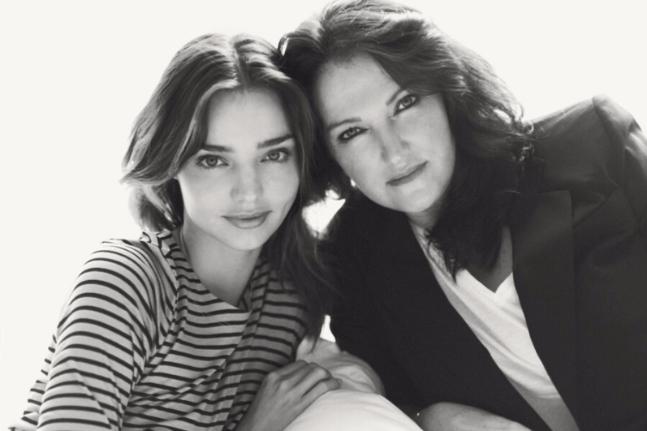 Miranda and Therese Kerr