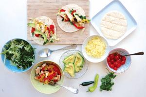 Meg Thompson's Build Your Own Tacos