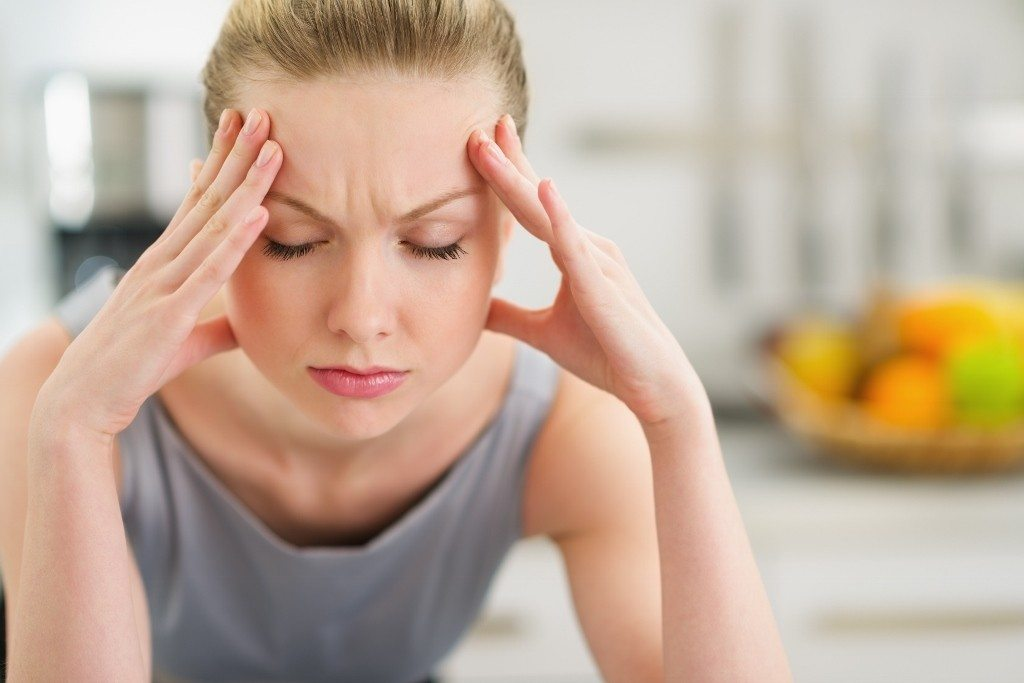 Mental stress can be a cause of physical pain