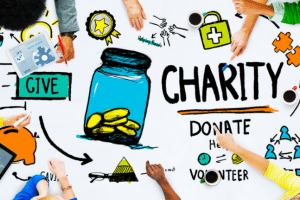 Online charity