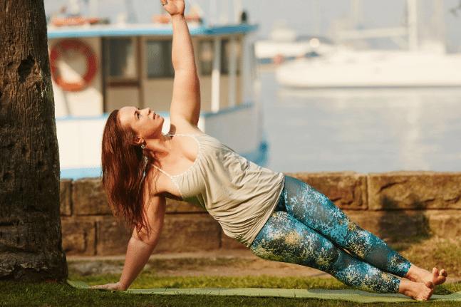 Side Staff Yoga Pose Kylie Terraluna