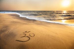 Ocean, yoga, tide, relax, meditation
