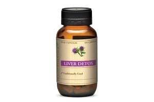 Liver detox no background