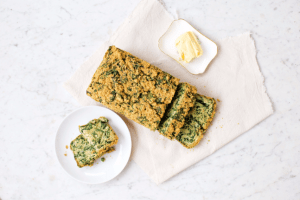 Spinach Loaf Spread with Creamy Ricotta