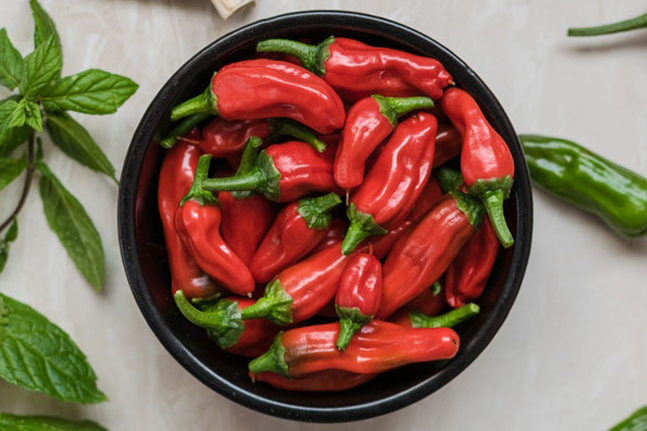 Can eating red hot chili peppers help you to live longer?