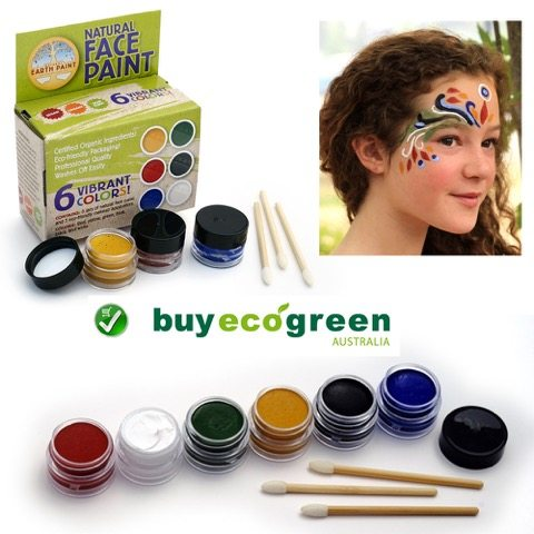 BuyEcoGreen_NATURAL EARTH FACE PAINT KIT