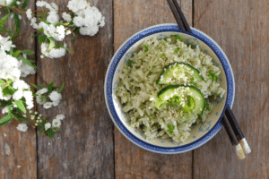 Lisa's Matcha Rice
