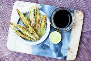 Lee's Okra Tempura with Asian Dipping Sauce_small