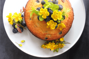 Lisa's Berry & Lemon Coconut Cake