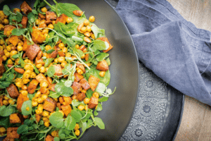 Georgia Spiced Sweet Potato Salad