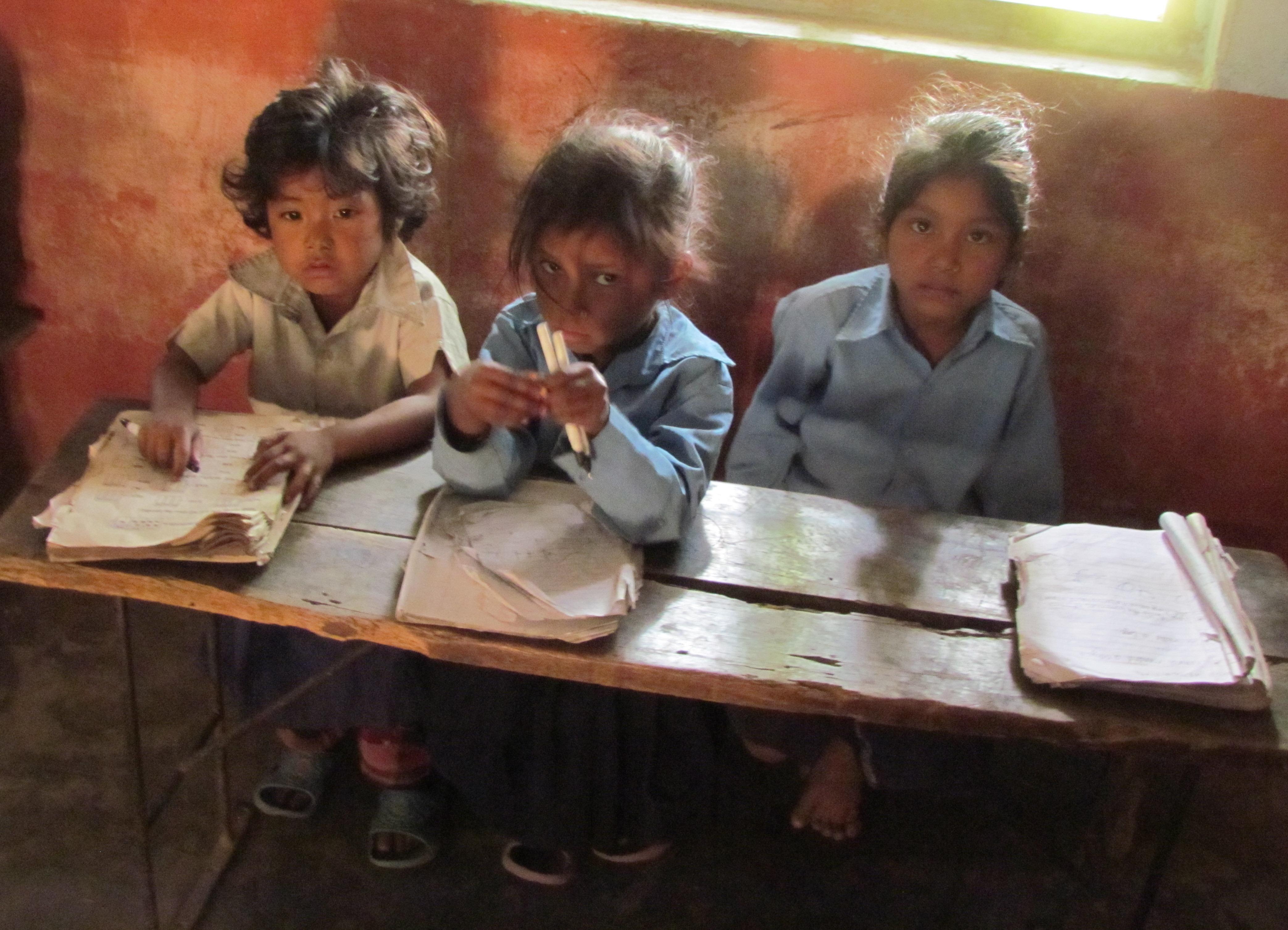 Children in crisis zones