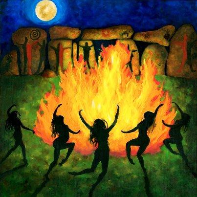 Joyful-fire-dance