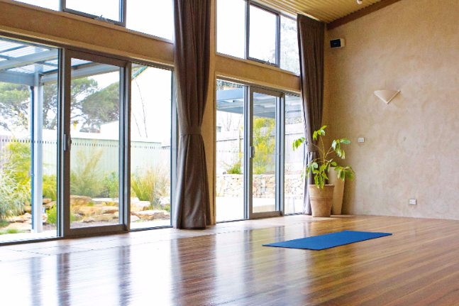 The Inner Space health retreat wellness yoga space love <a href=