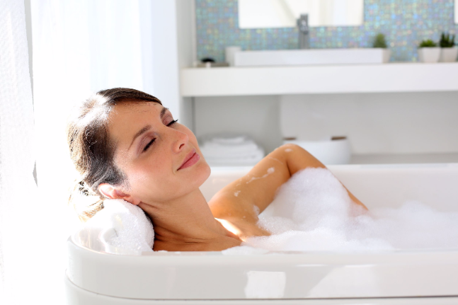 Discover why soaking in a warm tub is good for the soul ...