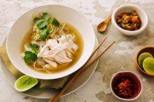 Vietnamese Inspired Chicken Soup