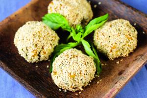 Pumpkin and Chia Seed Balls Recipe
