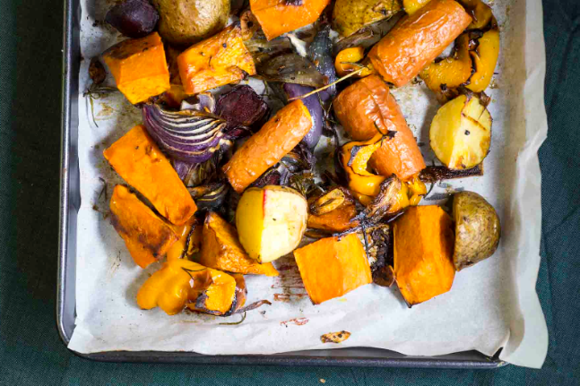 Roasted Vegetables with Garlic and Rosemary