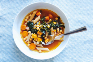 """Clean Out the Fridge"" Minestrone"