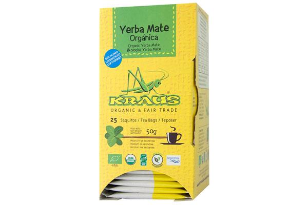 Yerba Mate Australia - Kraus tea bags (25 pk)
