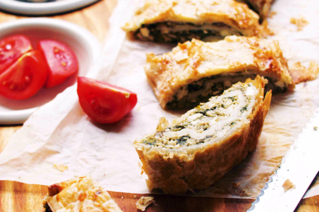 Chicken and Spinach Pinwheel Recipe