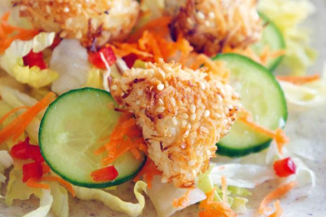 Coconut Fish Bites Recipe