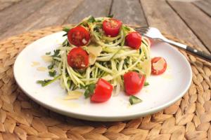 Gluten-Free Lemon Zucchini Pasta