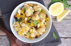 Cauliflower and Turmeric Brown Rice Recipe