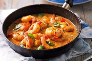 Stir-Fried Red Prawns Recipe