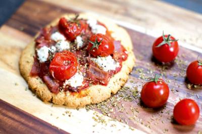 Ham and Cheese Pizza Recipe