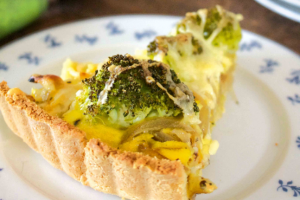 Broccoli and Cheese Tart
