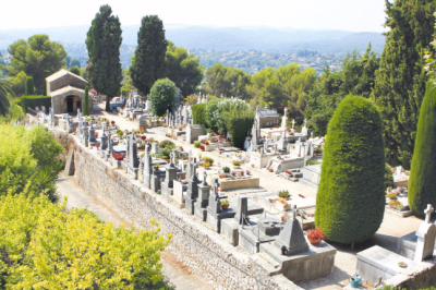 Photo of St. Paul de Vence cemetery, France